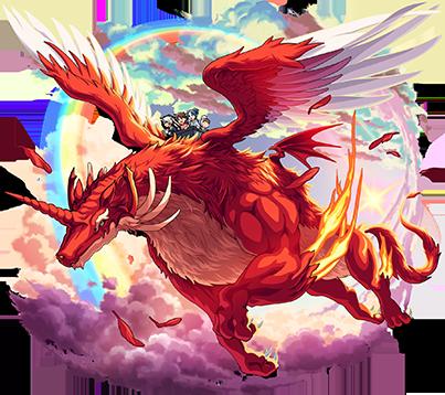 火属性 ★6 伝説の赤竜 オルタナティブドラゴン