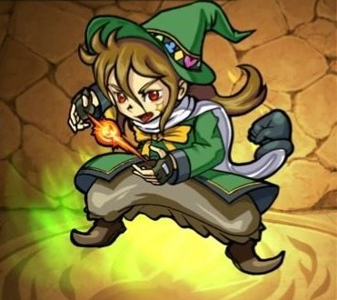 モンストリセマラ当たりランキング緑魔道アーノルド