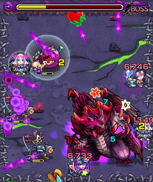 ダークドラゴン降臨攻略_バトル6_2_モンスト降臨攻略