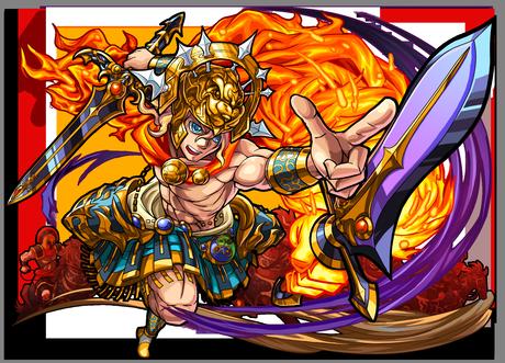 火属性 ★6 双角王 アレキサンダー(神化合体後)画像