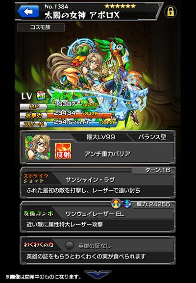 太陽の女神 アポロX