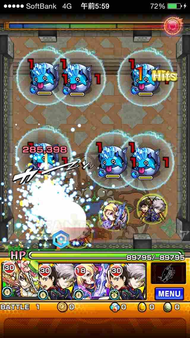 攻略『覇者の塔★27階』適正&ギミック1