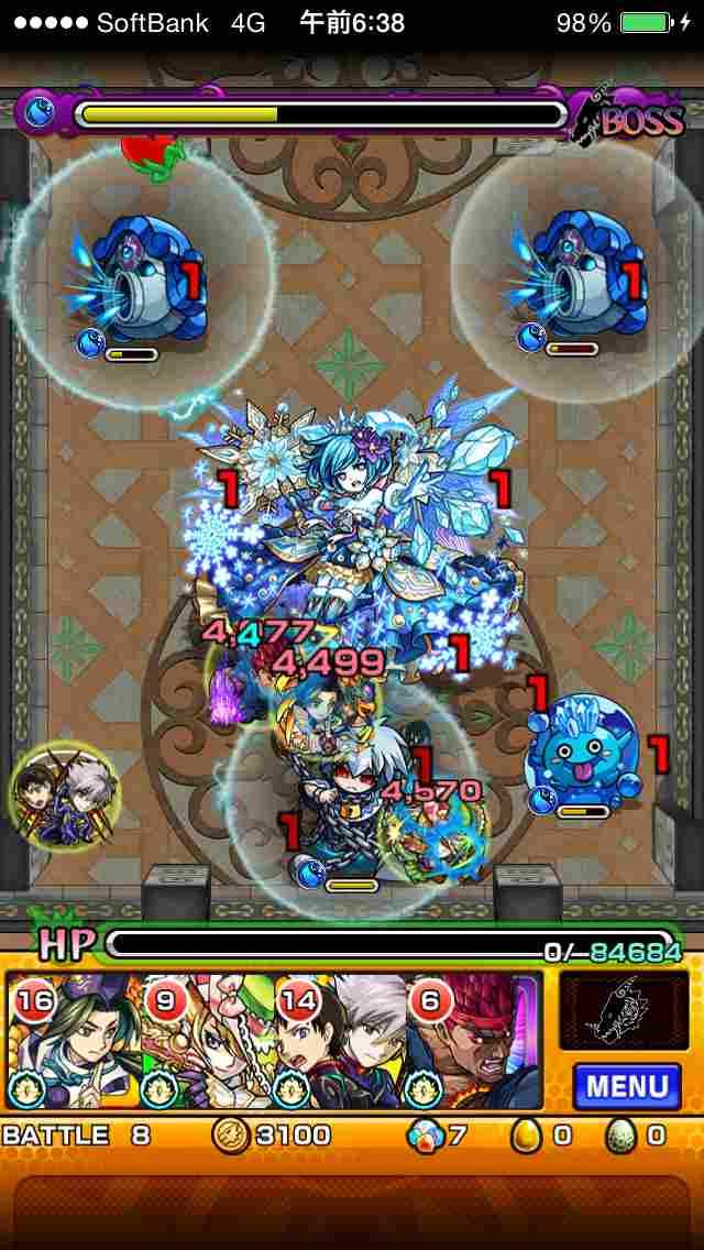 攻略『覇者の塔★27階』適正&ギミック82