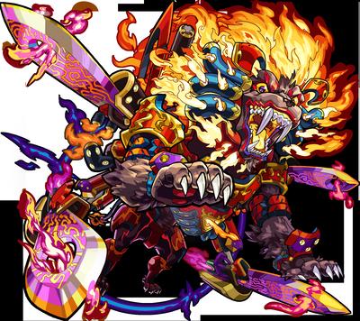 炎獄の巨獣 ウォッカ(神化)
