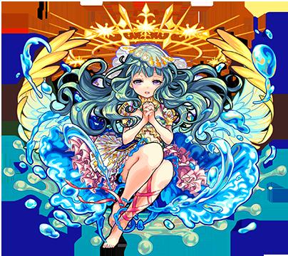 獣神化追加第4弾:水属性 ★6 慈愛の聖天使 ラファエル