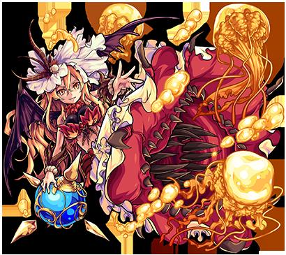 光属性 ★6 幻棲鬼 ファルファレルロ(進化合成後)