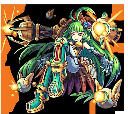 木属性 ★5 機甲闘姫 エウロパ