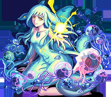 光属性 ★6 追憶の海の少女 キスキル・リラ(進化合成後)