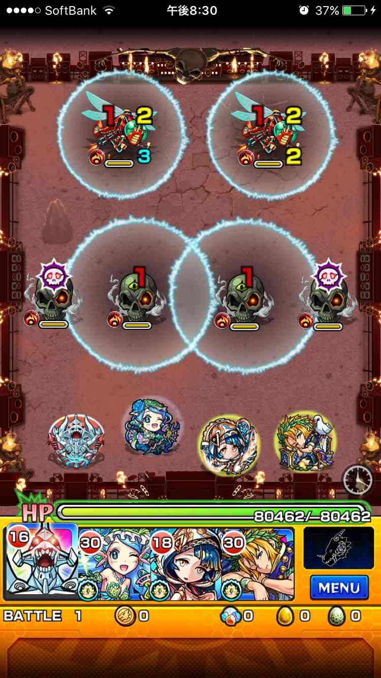 11バトル_ニルヴァーナ闘神超絶ギミック攻略