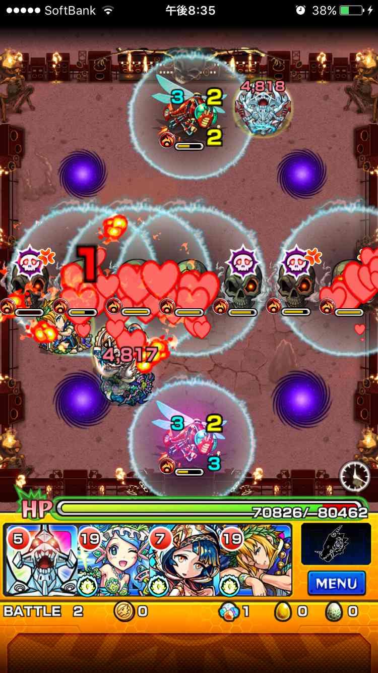 22バトル_ニルヴァーナ闘神超絶ギミック攻略