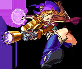 闇属性 ★6 宿命の魔銃姫 エティカ(進化合成後)