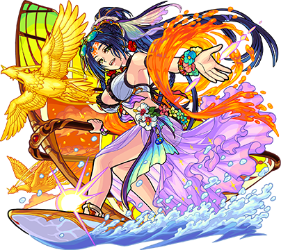 鮮麗なるビーチの女王 テキーラα(獣神化)