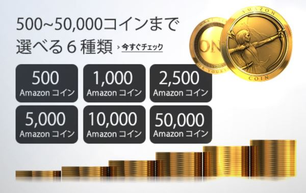 Amazonコインのまとめ買い6パターン