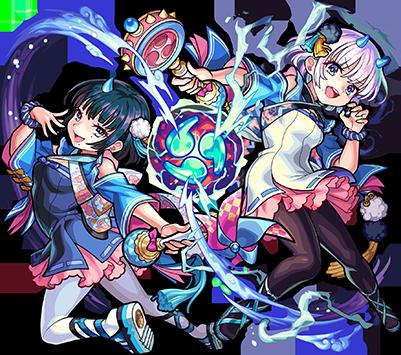 天魔調伏の魔法童女 風神雷神(進化)