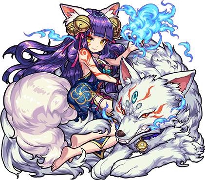 闇属性 ★6 傾国の妖狐姫 妲己